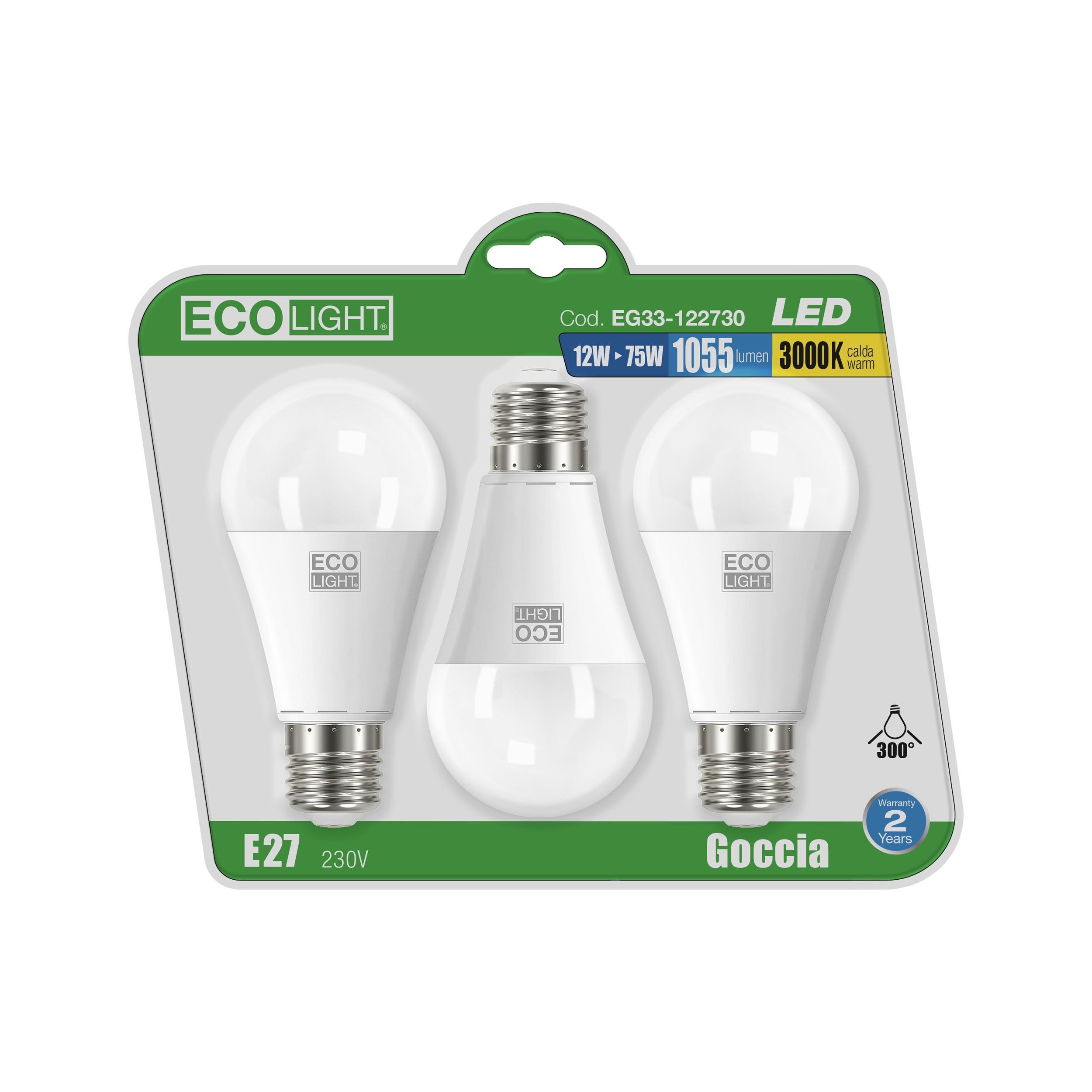 BL.3 LAMP.LED GOCC.E27 12W 64K