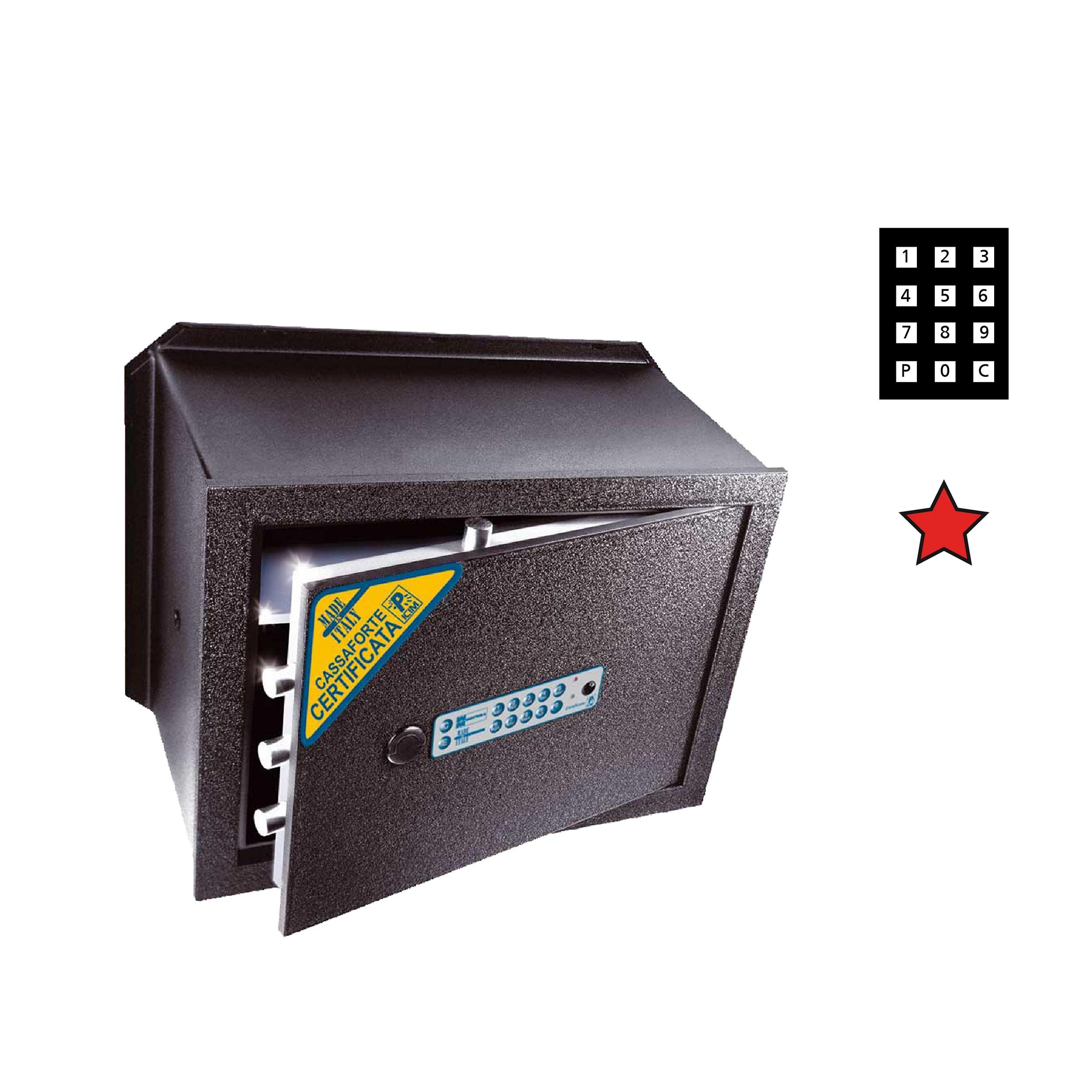 CASSAFORTE ELETTR. 230X350X250