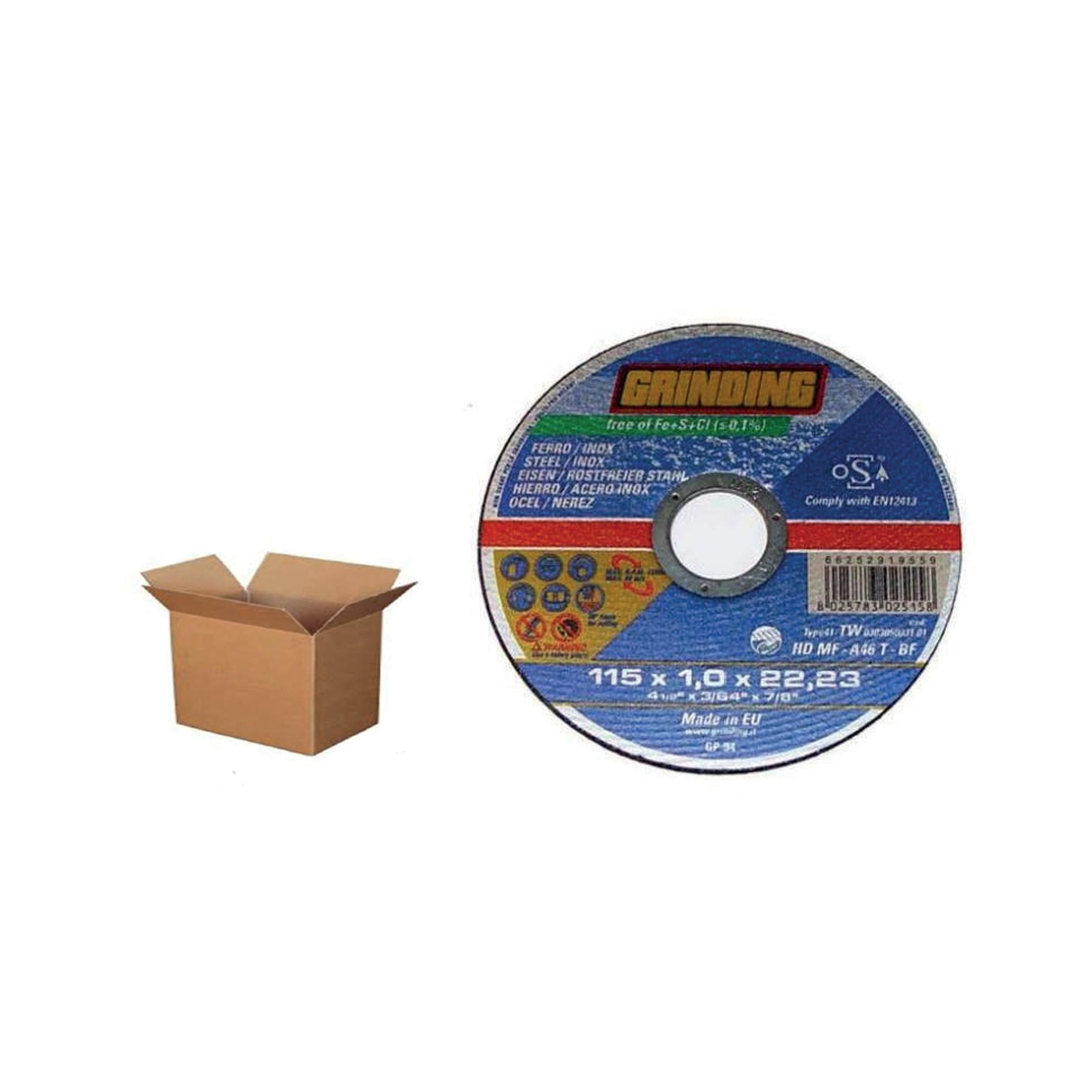 BOX DISCO TAGLIO FERRO 115X1,0